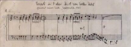 Sonate in F-Dur
